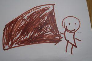 5歳児の描いた絵③