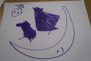 5歳児の描いた絵①