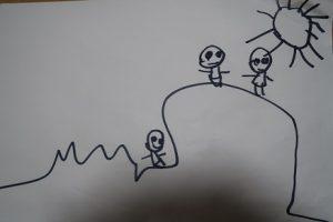 5歳児の描いた絵⑩