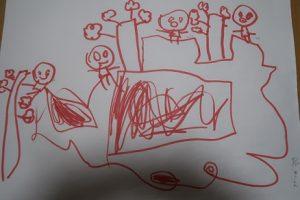 5歳児の描いた絵⑨